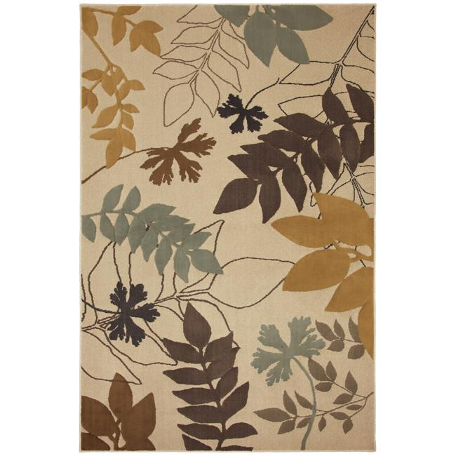 Hidden Escape Beige Rug (8' x 11')