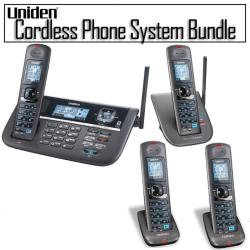 Uniden DECT 6.0 Two-line Cordless Phone System