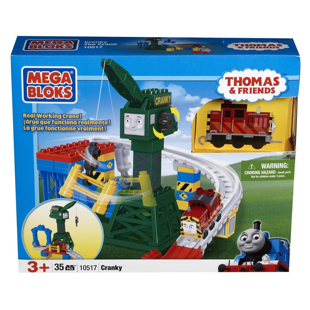 Mega Bloks Cranky the Crane Toy Set