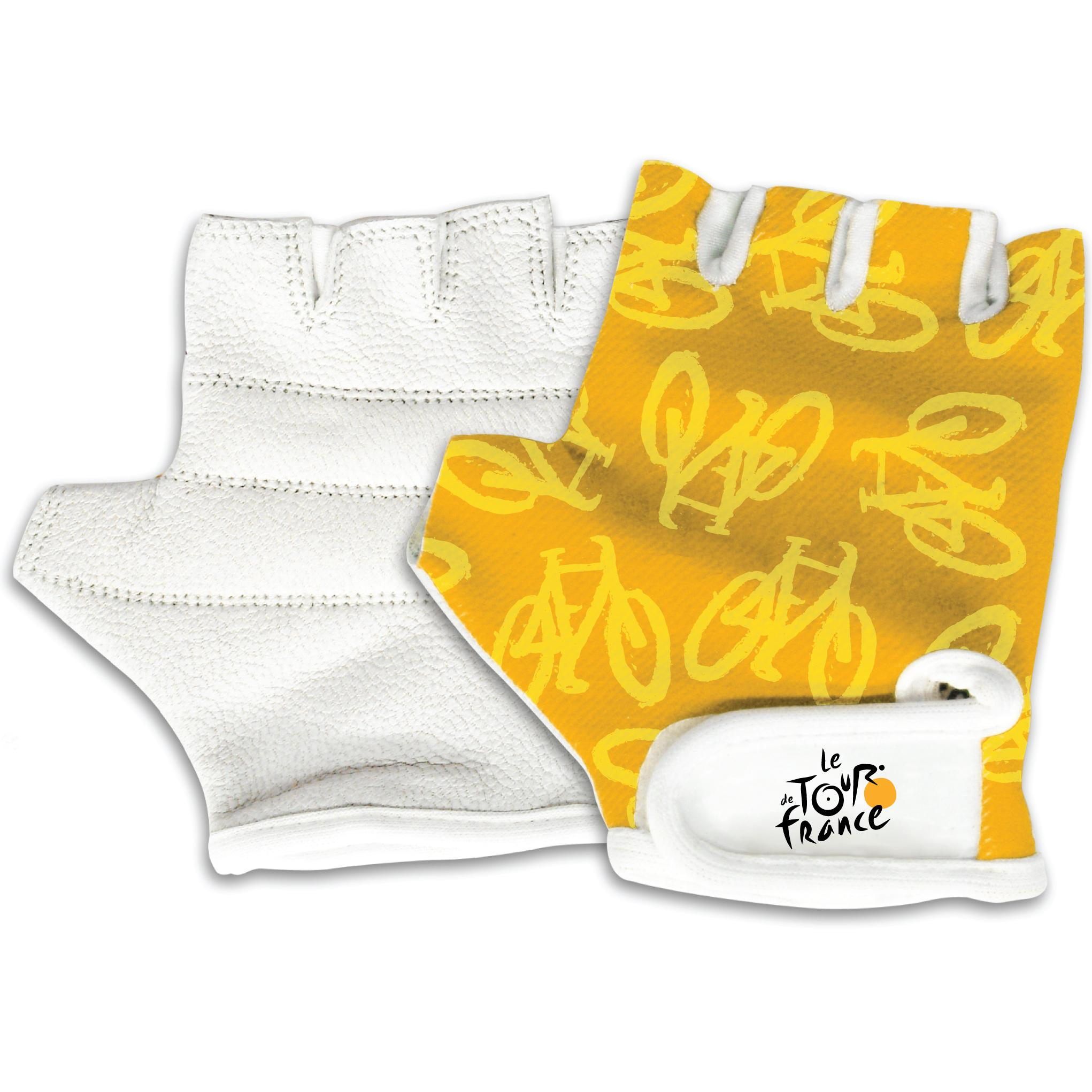 Sports and Toys by O Tour De France Youth Yellow Bicycle Riding Gloves at Sears.com