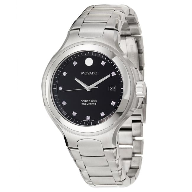 Movado Men's 'Series 800' Stainless Steel Quartz Watch