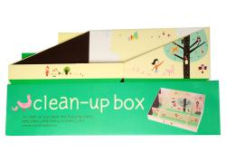 Paper Do-it-Yourself Yellow Clean Up Box