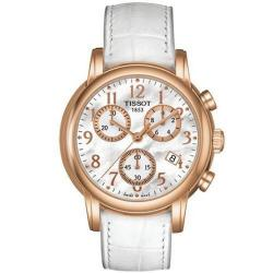 Tissot T-Classic Women's Dressport Goldplated Watch