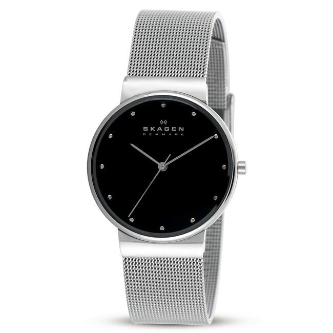 Skagen Men's Stainless Steel Ultra Slim Watch