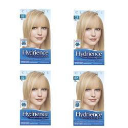 Clairol Hydrience #02 Beach Beige, Light Blonde Hair Color (Pack of 4)