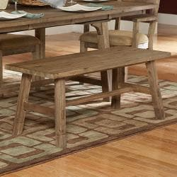 Nat Driftwood Acacia Wood Country 48-inch Bench