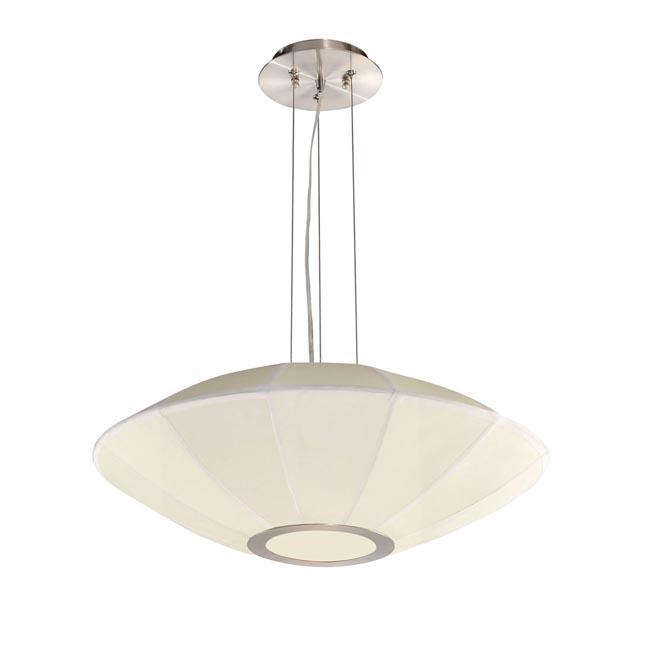 4-light Pendant Chandelier with UFO Shade