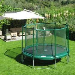 KidWise Jumpfree 15-foot Trampoline with Safety Enclosure