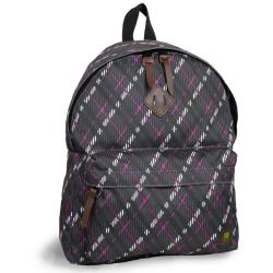 J World 'Kelley' Purple Preppy 16-inch Mini Day Backpack