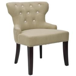 Safavieh Metro Sage Green Tufted Chair