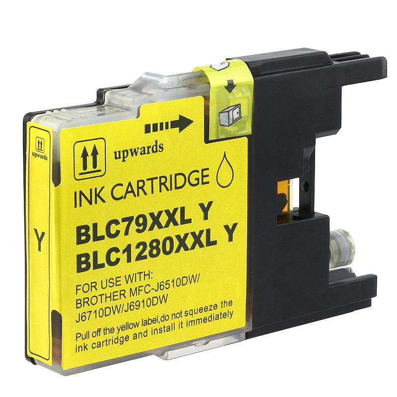 Brother LC79Y Compatible Extra High-yield Yellow Ink Cartridge
