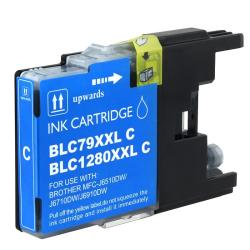 Brother LC79C Compatible Extra High-yield Cyan Ink Cartridge