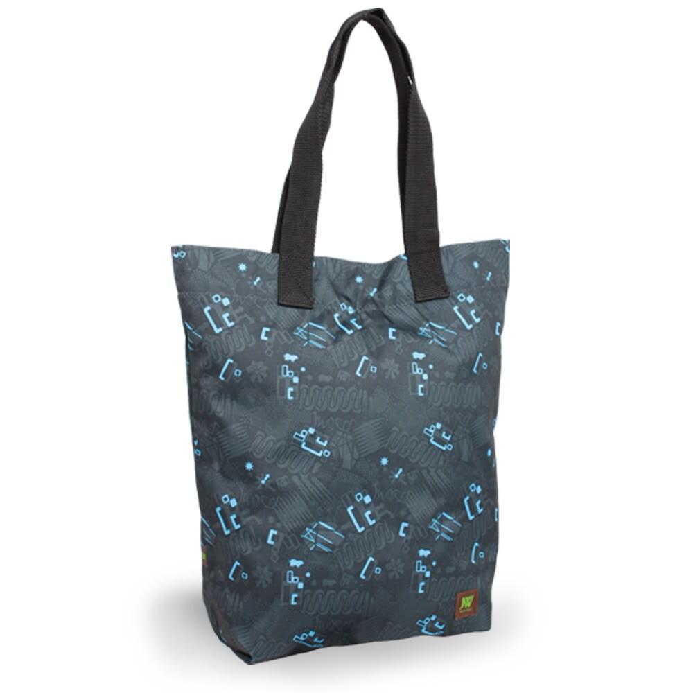 J World 'Leslie' Blinker Black Tote Bag