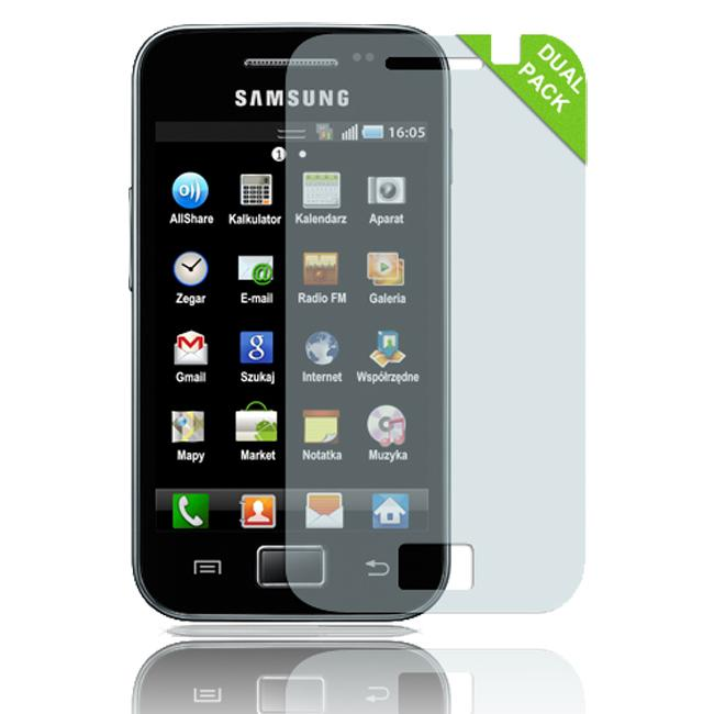 Luxmo Samsung Galaxy Ace Anti gloss Screen Protector (Pack of 2