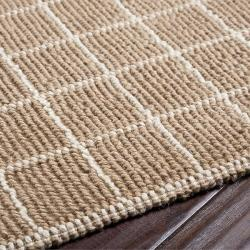 Country Living Hand-Woven Lynch Beige Natural Fiber Jute Rug (5' x 8')