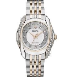 Bulova Precisionist Women's 'Tanglewood' Collection Diamond Watch