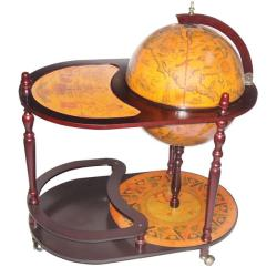 Merske Globes Trolley Globe Bar