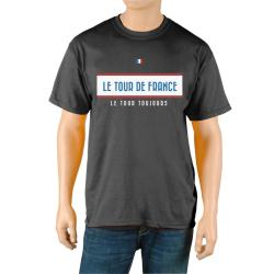 Le Tour de France Men's 'Vintage' Black Official T-Shirt