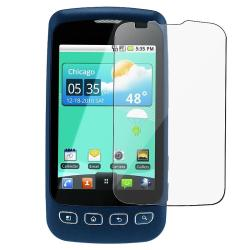 Silicone Case w/ Screen Protector for LG LS670 Optimus S