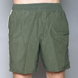 Speedo Men's Green Twin Stripe Swimsuit
