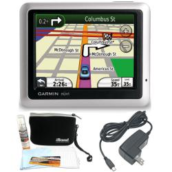 Garmin Nuvi 1250 3.5-inch GPS and Accessories Kit (Refurbished)