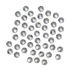 Beadaholique Black Diamond ss16 Crystal Flatback Rhinestones (Pack of 50)