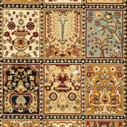 Safavieh Majesty Extra Fine Panel Multi/ Cream Runner (2'3 x 6')