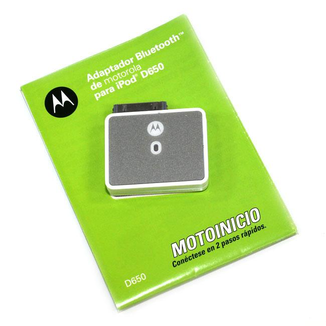 Motorola D650 BlueTooth Stereo Adapter for iPod (Refurbished)