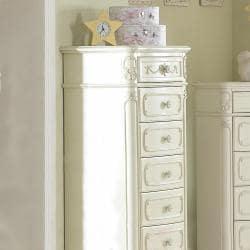 Fairytale Collection Ecru Wood Lingerie Chest