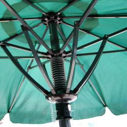 Deluxe 10-foot Green Patio Umbrella