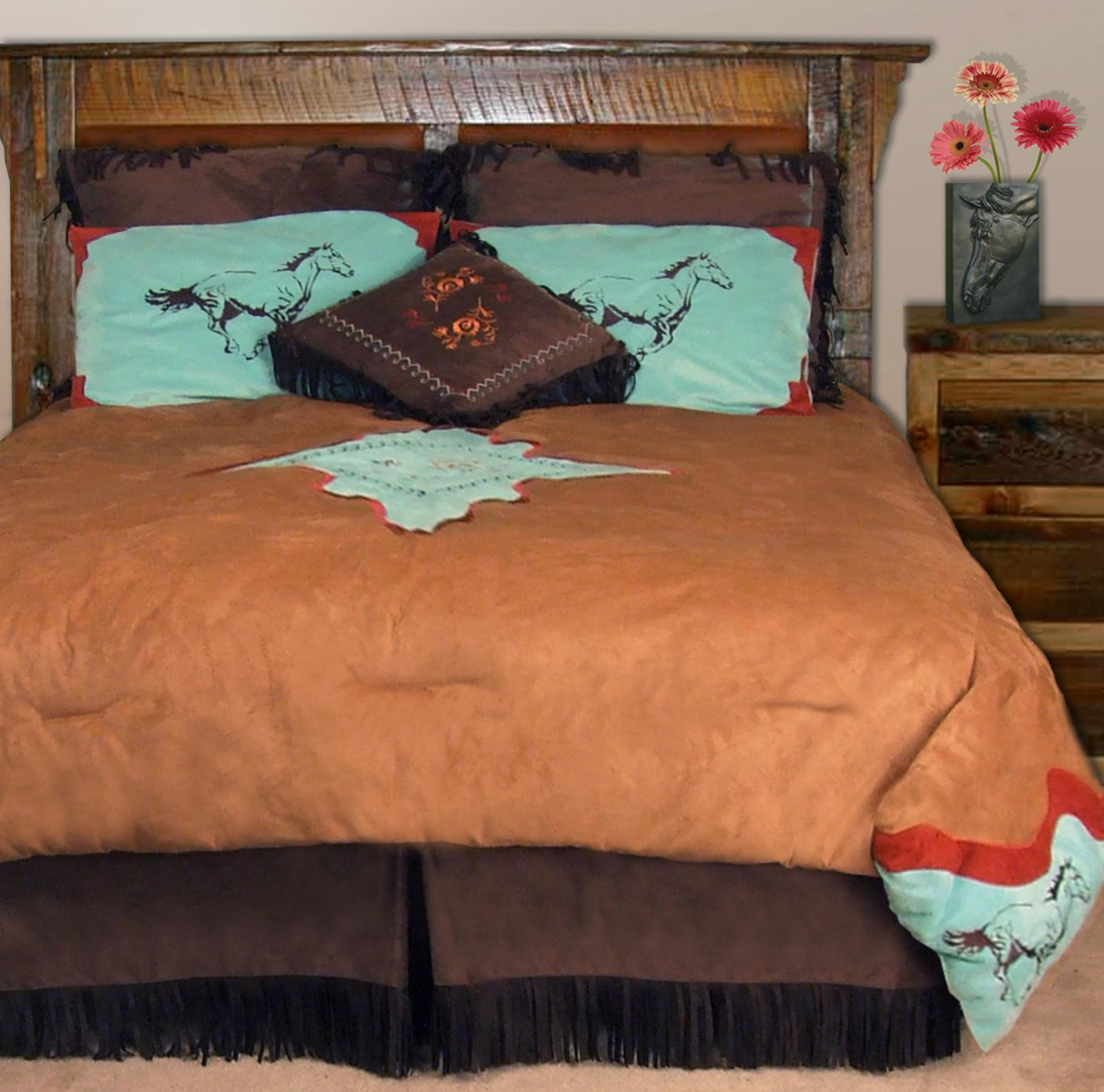 Free Spirit Horse King-size 7-piece Comforter Set
