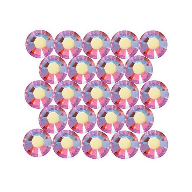 Beadaholique Light Siam AB ss20 Crystal Flatback Rhinestones (Pack of 50)
