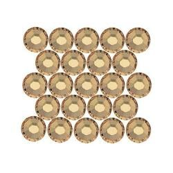 Beadaholique Light Colorado Topaz ss20 Crystal Flatback Rhinestones (Pack of 50)
