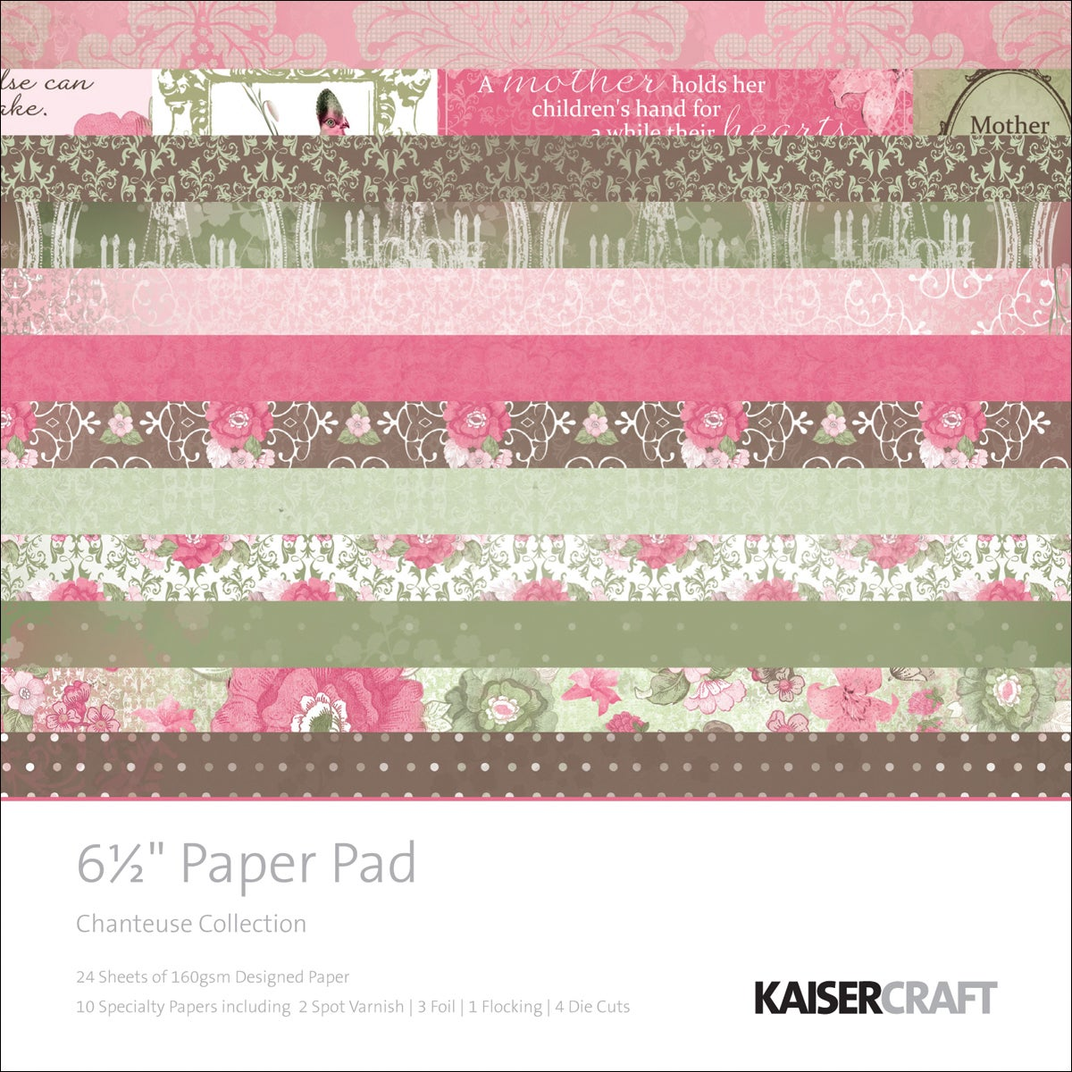 Chanteuse Paper Pad Sheets