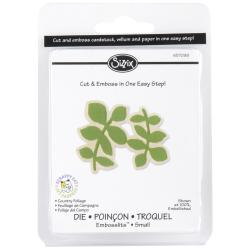 Sizzix Embosslits 'Country Foliage' Die