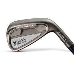 Adams Men's Idea Pro A12 Forged Steel Shaft Iron Set