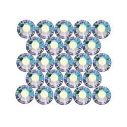 Beadaholique Light Colorado Topaz AB ss16 Crystal Flatback Rhinestones (Pack of 50)
