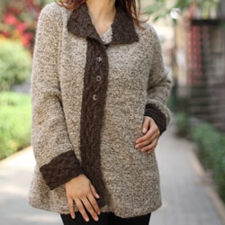 Alpaca 'City Chic' Sweater (Peru)
