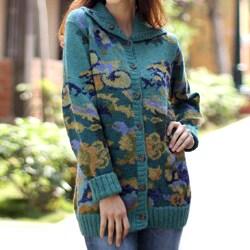 Alpaca 'Illusion' Sweater (Peru)