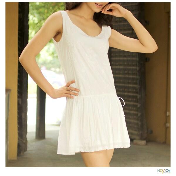Cotton 'Summer Bouquet' Dress (India)