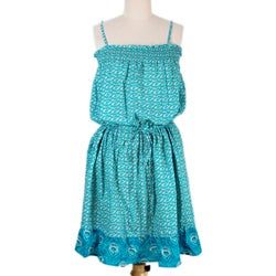 Cotton 'Jaipur Summer' Dress (India)