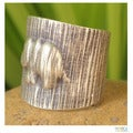 Sterling Silver 'Rainforest Elephant' Ring (Thailand)