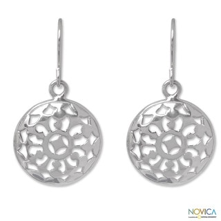 Sterling Silver 'Starry Sky' Earrings (Thailand)