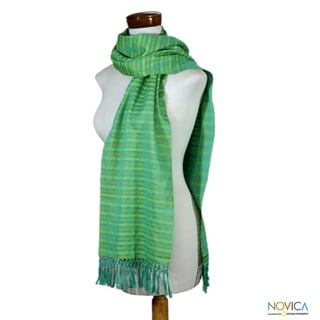 Cotton 'Eco Fantasy' Scarf (Guatemala)