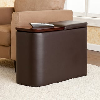 Hatcher Cafe Brown Entertainment Companion Table