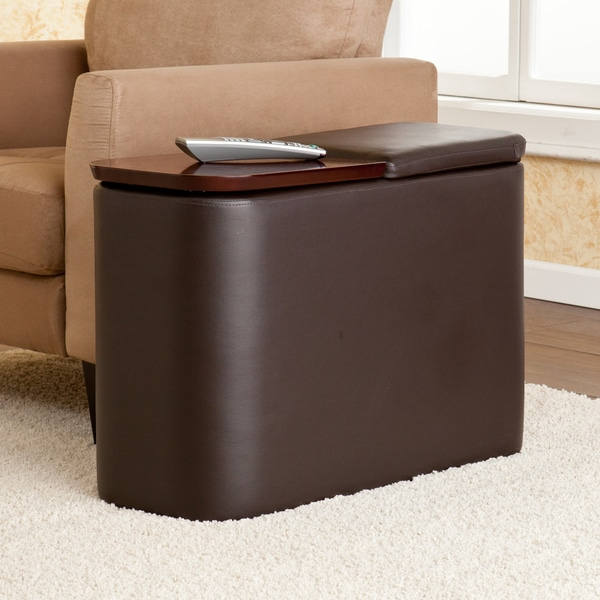 Upton Home Hatcher Cafe Brown Entertainment Companion Table