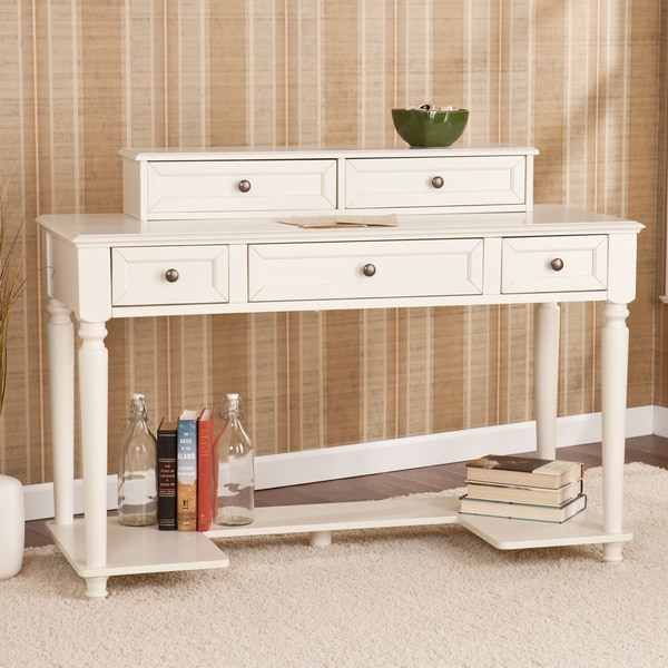 Harper Blvd Tiverton White Writing Office Desk