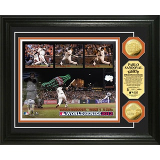 Pablo Sandoval World Series 3HR?s Gold Coin Photo Mint