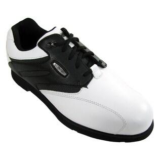 Hi-Tec Dri-Tec Men's Classic White/Black Golf Shoes