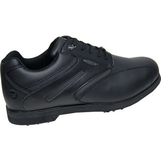 Hi-Tec Dri-Tec Men's Classic Black/Black Golf Shoes